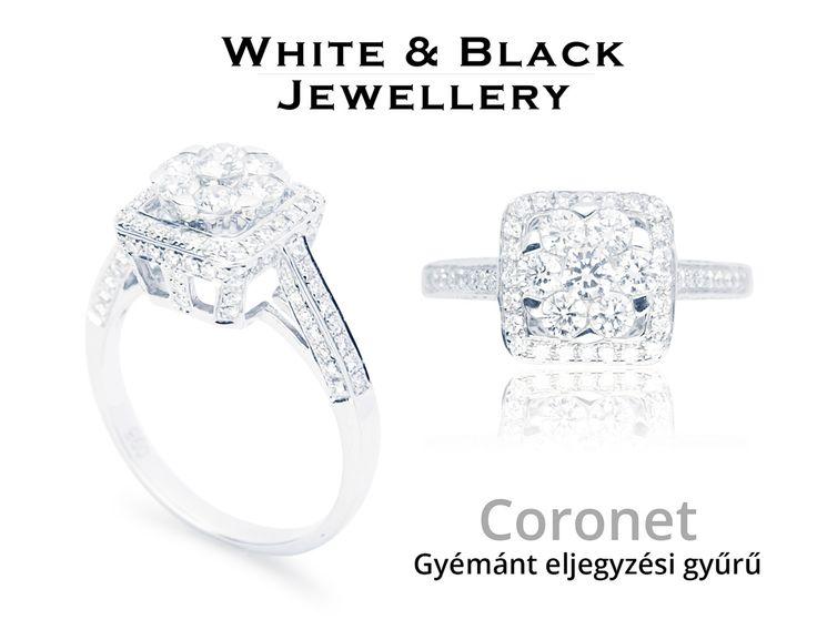 Gyémánt eljegyzési gyűrű - Diamond engagement ring