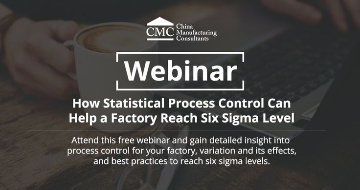 How Statistical Process Control Helps Reach Six Sigma Level Of Quality [Webinar] #SixSigma