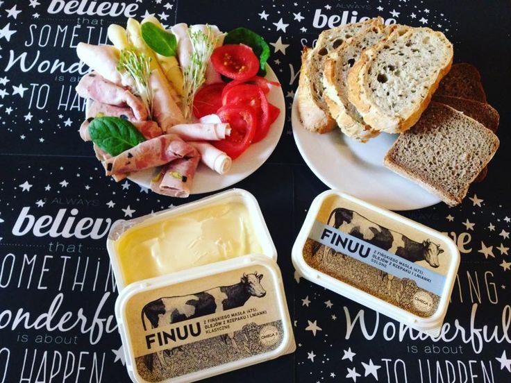 Magiczne śniadanie z FINUU. @mrsFamess #finuu #finuupl #butter #maslo #sniadanie #kanapki #breakfast #sandwich #warzywa #inspiracje #przepisy