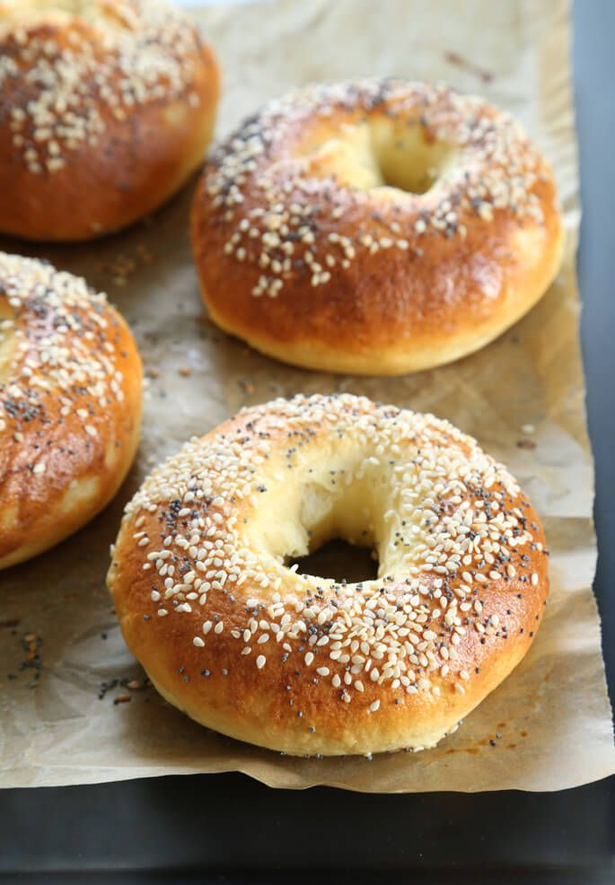 Easy No Rise Gluten Free Bagels