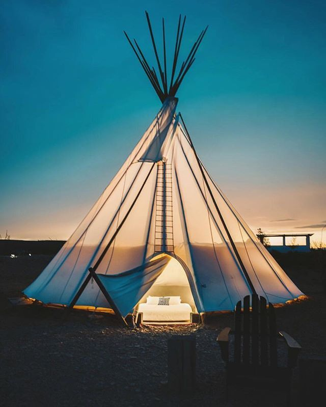 Candelilla Tipi: Calm and Cozy Under the Big Bend Stars