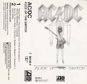 AC/DC - Flick Of The Switch: buy Cass, Album at Discogs