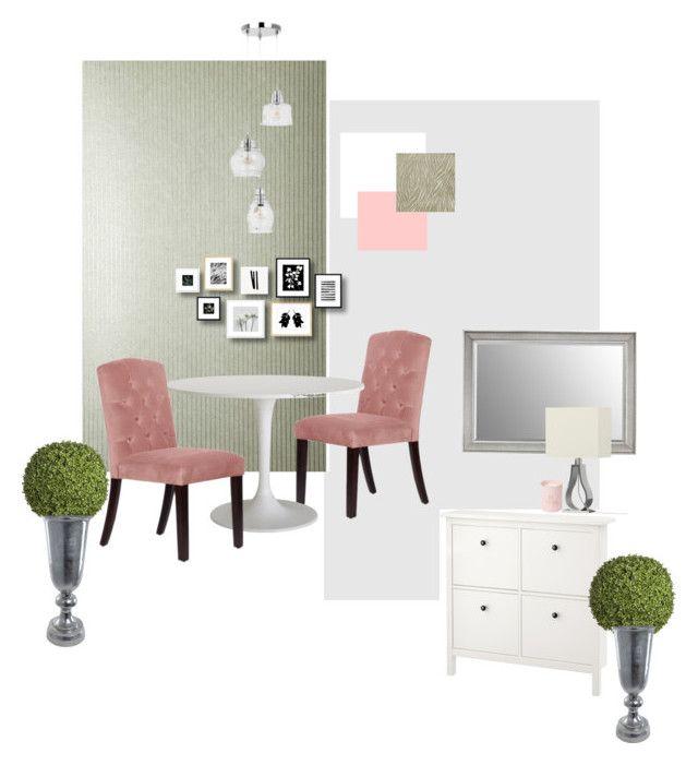 Virág étkező-előszoba by reka-palyi on Polyvore featuring interior, interiors, interior design, home, home decor, interior decorating and Sia