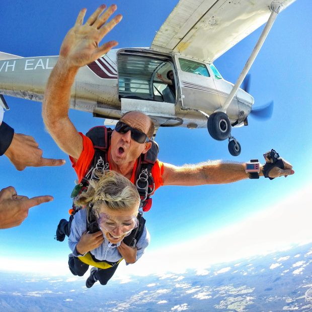 Adventure Review: Skydiving over Coffs Harbour