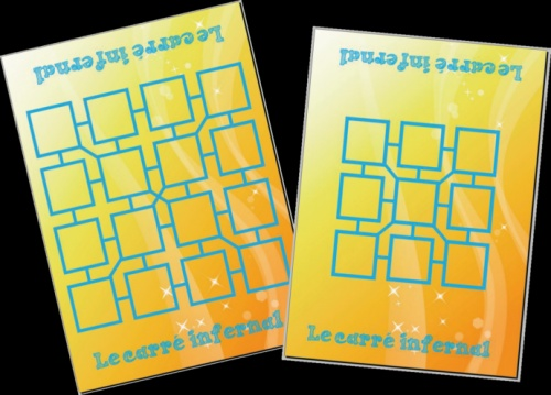 Le carré infernal : jeu sur les compléments à 10