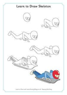 Learn to Draw Winter Olympics Pictures - repinned by @PediaStaff – Please Visit ht.ly/63sNt for all our pediatric therapy pins