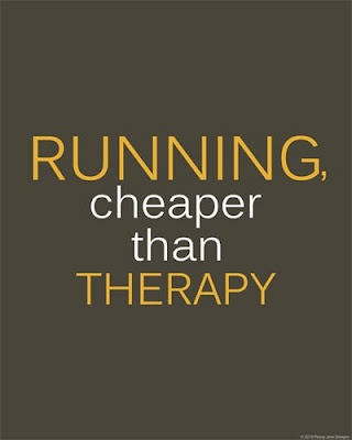 I love running just for this reason...