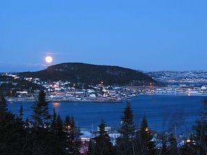 St. Anthony, NFLD - [November 25, 2007] - Moonlight Bay