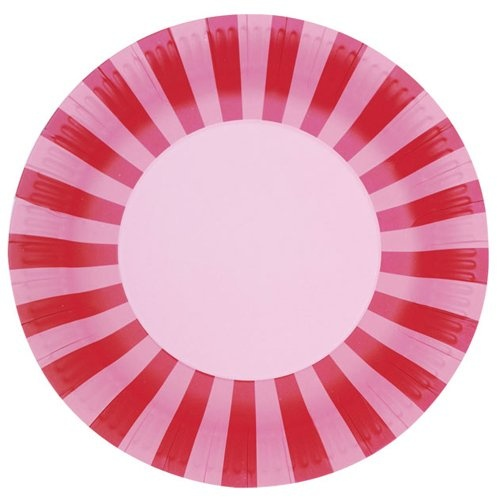 Bold Stripes Paper Plates by Beau-coup