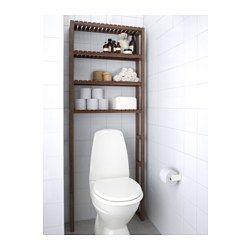 MOLGER Offene Aufbewahrung, dunkelbraun - 68x18x182 cm - IKEA