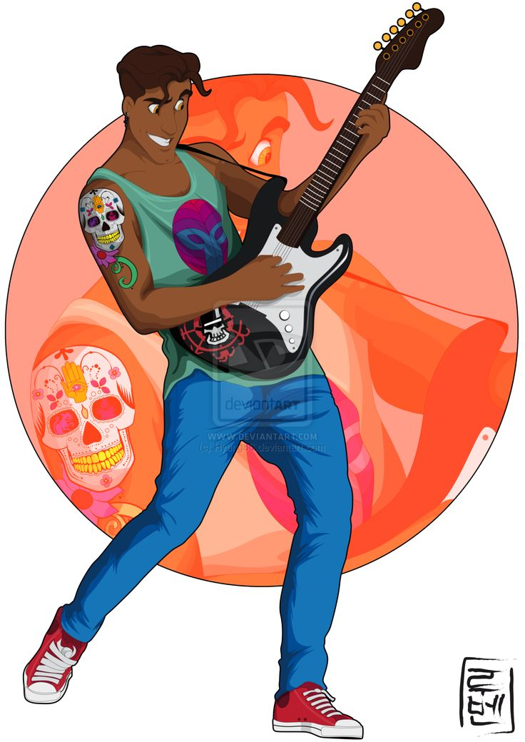 Disney University - Naveen = Allthough his parents forced him to study Political Science he prefers to use his time to music. He enjoys all genres of music and loves learning to play different instruments.  by Hyung86.deviantart.com on @deviantART