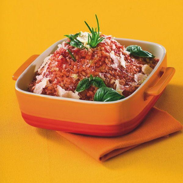 WeightWatchers.fr : recette Weight Watchers - Risotto à la tomate et au parmesan