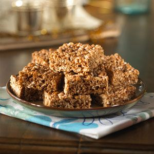 Cocoa Krispies Treats Recipe - Delish