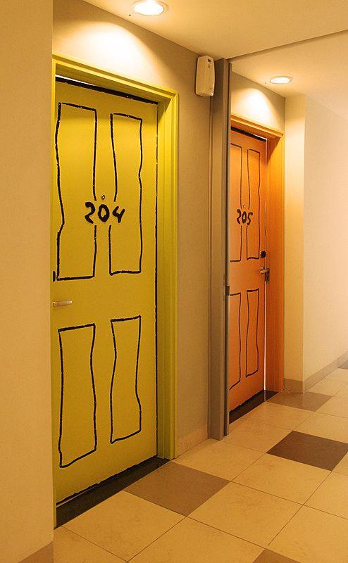 artotel surabaya - door design