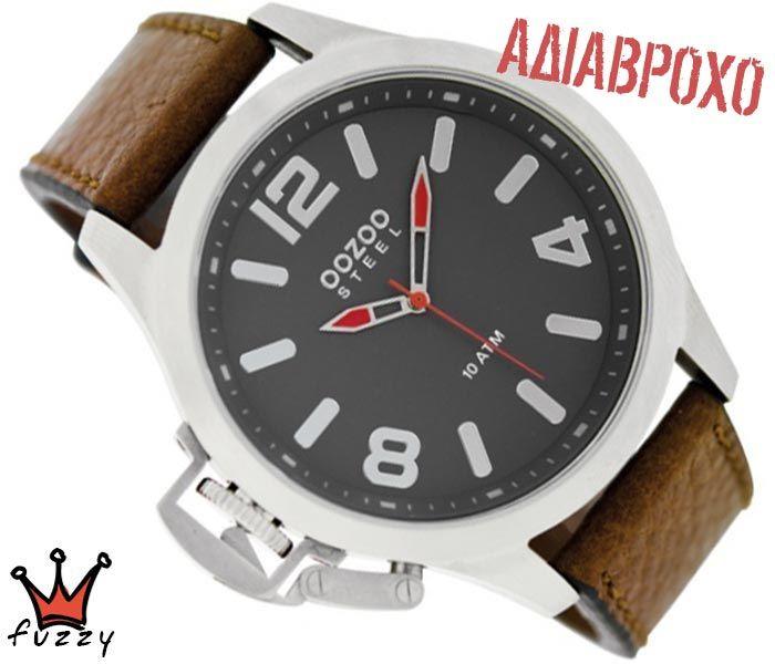Ρολόι ανδρικό OOZOO STEEL XL OS334