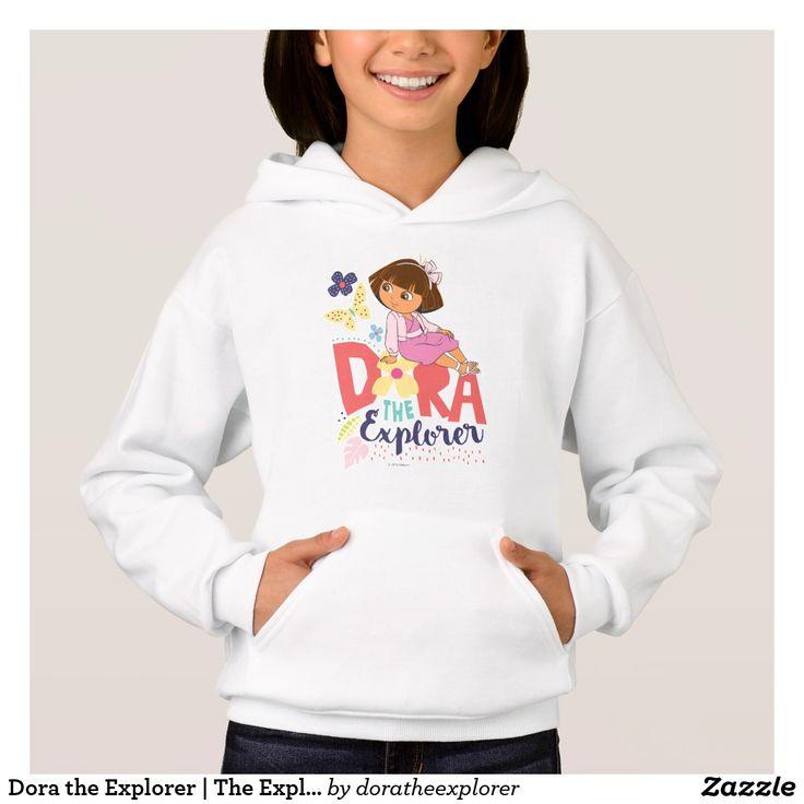 Dora the Explorer   The Explorer. T-Shirt. Producto disponible en tienda Zazzle. Vestuario, moda. Product available in Zazzle store. Fashion wardrobe. Regalos, Gifts. Trendy tshirt. #camiseta #tshirt