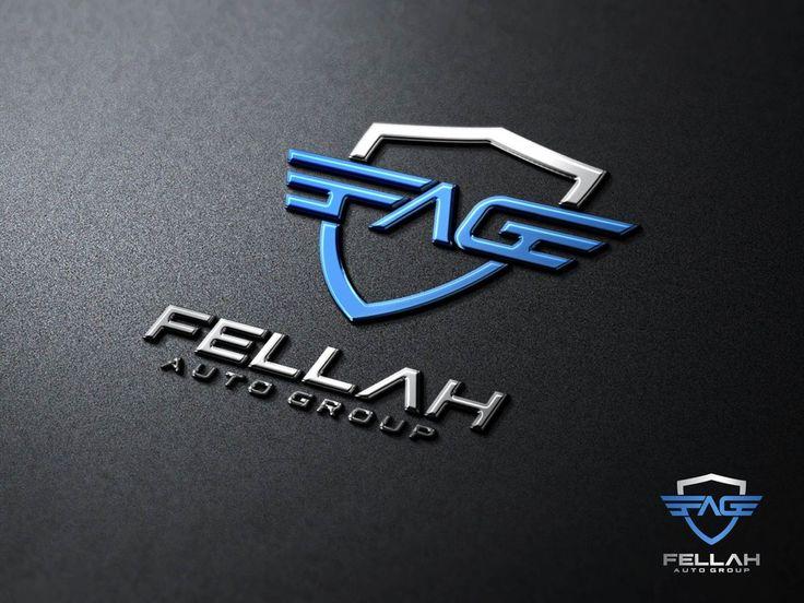 Create a logo for Fellah Auto Group - used car dealer by Diin $$D