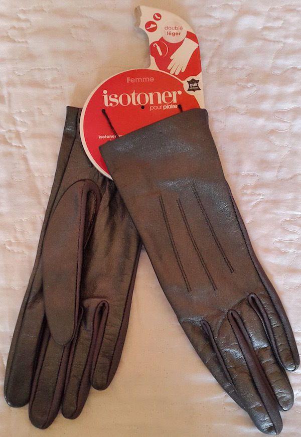 Magnifique Gants Femme Cuir ISOTONER Taille S   Gloves   Gants femme, Gant  et Femme 12ef57b11e39