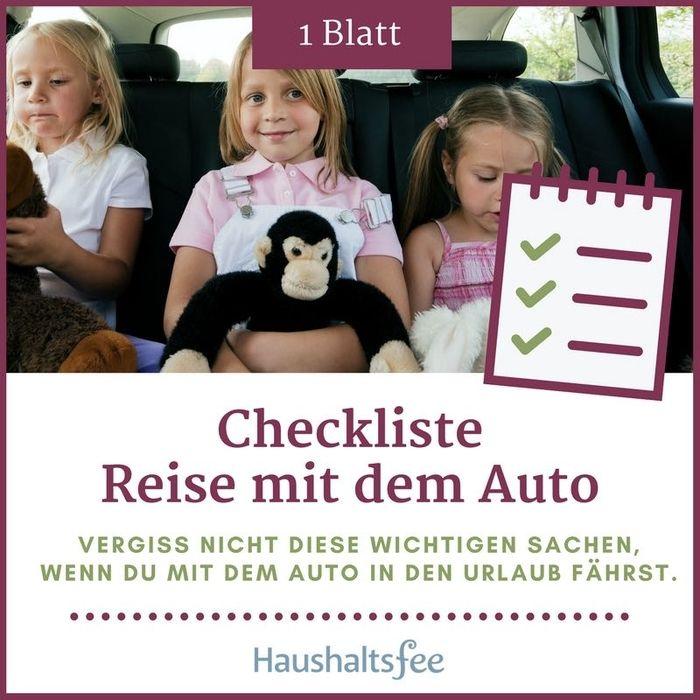 """Die Urlaub-Checkliste """"Reise mit dem Auto"""" ist eine große Hilfe, wenn du dein Fahrzeug für den Urlaub vorbereiten möchtest. Bevor es losgeht, sollte beispielsweise ein umfangreicher Technik- und Zubehör-Check durchgeführt werden. Auch alle Fahrzeugpapiere und weiteren Dokumente sollten dabei sein – mit der Urlaubs-Checkliste behältst du den Überblick."""