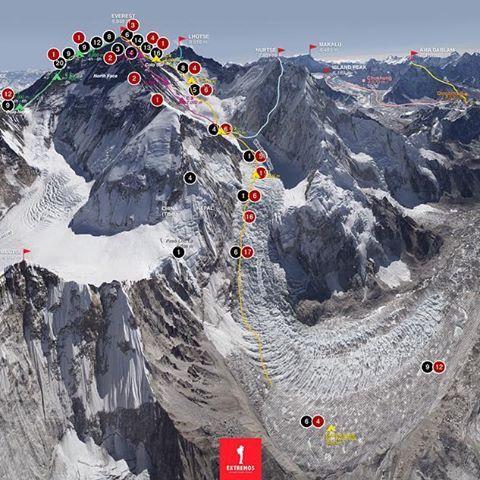 O novo infográfico do Extremos revela onde aconteceram as 287 mortes de montanhistas e sherpas no Everest. Confira lá na cobertura online ou de um ZOOM nesta imagem. ____________________________ #infographic #extremos #everest #infografico #outdoors #online #outside #climb #death #escalada #montanhismo #nepal #tibet