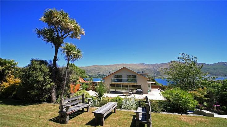 Wanaka, Apartment, New Zealand, Luxury Holiday House, Lakefront Wanaka House, Villa