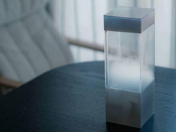 外の天気を小さな箱の中に再現してみよう