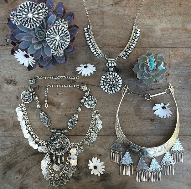 """To call this """"boho jewelry"""" disregards the ethnic heritage represented by these pieces. I don't think it is enough credit to blanket American Indian, Chinese, and other tribal artisan pieces with the word """"boho."""""""