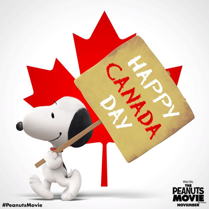 The Peanuts Movie wishes a Happy Canada Day to all of our Canadian friends!