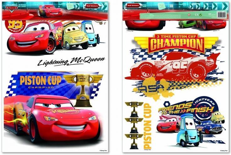 Disney - Bilar Xl Wall Stickers - Litenleker.se
