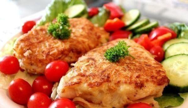 Fish fillets in a potato batter