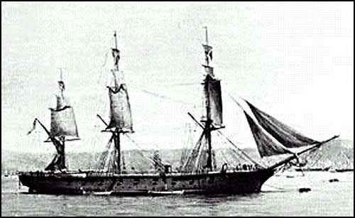 """Gloriosa Corbeta """"Esmeralda"""",Esta corbeta fue comprada a Inglaterra y nombrada como """"Esmeralda"""", en homenaje a la captura de la """"Esmeralda"""" por Thomas Lord Cochrane, en Callao, en 1820."""