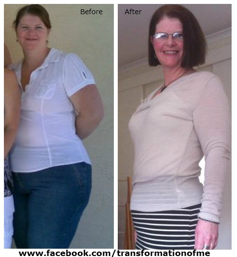 How amazing does Bron look? Check out her page on FB....  www.facebook.com/transformationofme