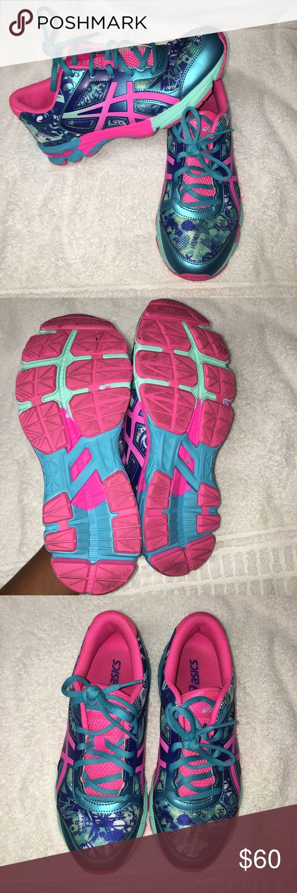 asics little girls shoes size 12