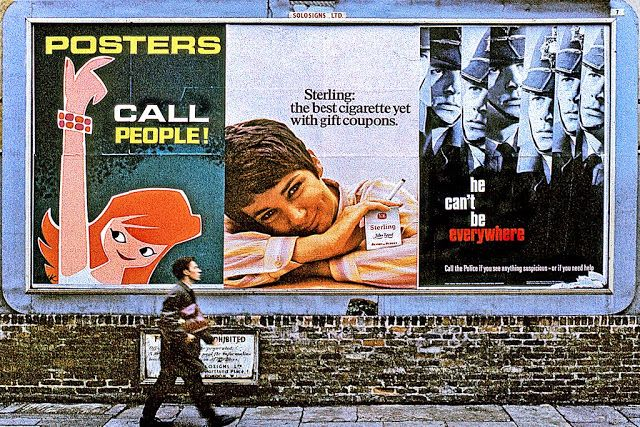 Color Photographs of Street Scenes of London in 1967