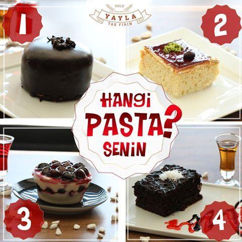 Peki, hangi pasta senin? 😍🤔 Yorum yap, paylaş 😊 👉 1) Çikolatalı Jöy Pasta 👉 2) Triliçe 👉 3) Böğürtlenli Lili 👉 4) Islak Kek #tatlıkrizi #dondurmaşöleni #tatlıbirmola #profesyoneltatlar #çikolata #böğürtlen #vişne #karamel #sütlütatlar #çikolatakrizi #çikolataaşkı İletişim : (0362) 437 32 32