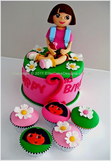 Cake Designs Dora The Explorer : 1000+ images about Dora the Explorer Birthday on Pinterest ...