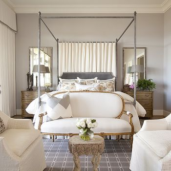 Bedroom Sofa, Transitional, bedroom, Dodson and Daughter Interior Design
