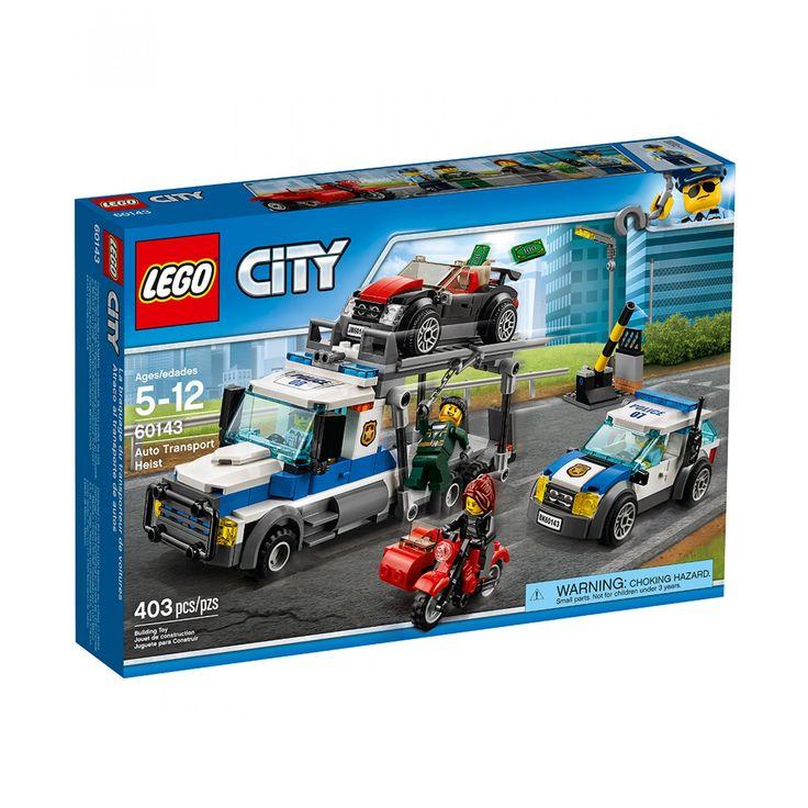 Les 25 meilleures id es de la cat gorie lego city police - Lego city camion police ...