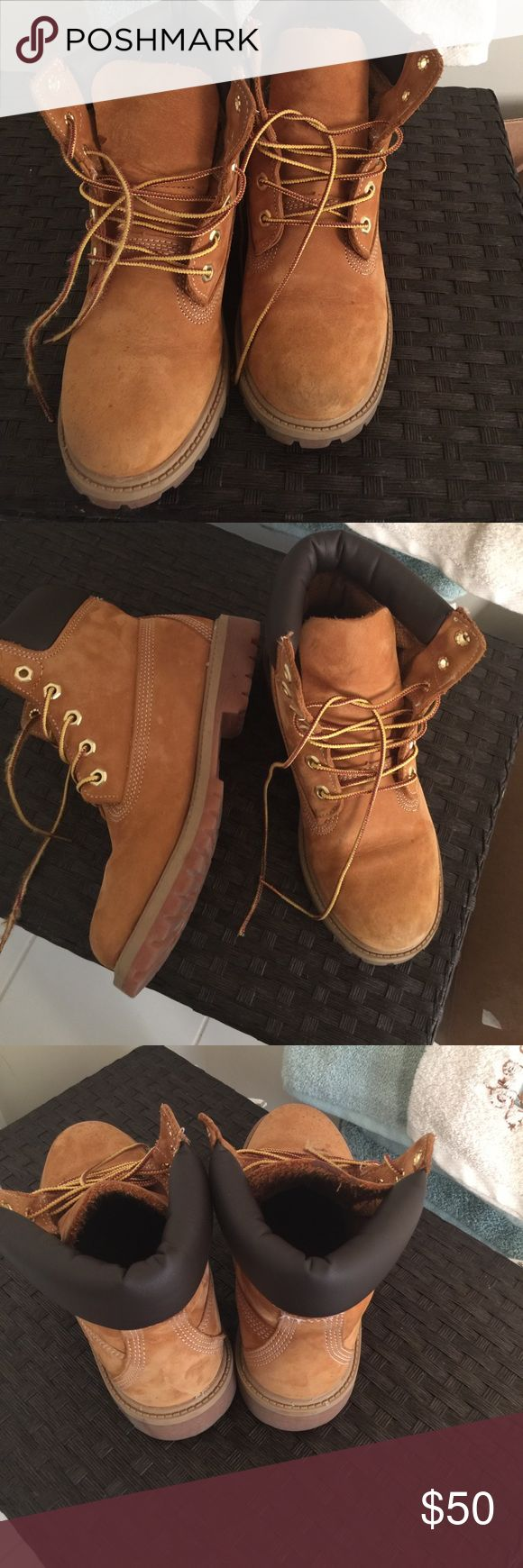 Kids wheat Timberlands Wheat Timberland boots Shoes Boots