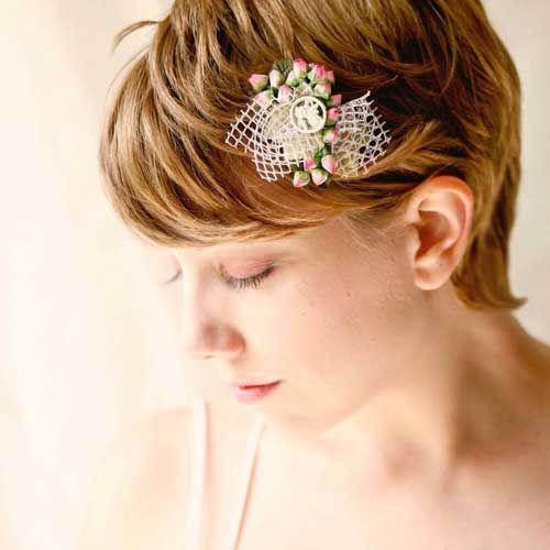 Best 25+ Short Bridal Hairstyles Ideas On Pinterest