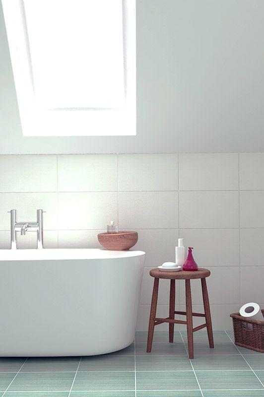 Wonderful Tile Design Ideas For Small Bathroom  Simple White Shower Tile
