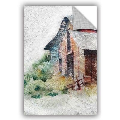 """ArtWall Scott Medwetz Farmhouse Wall Decal Size: 24"""" H x 16"""" W x 0.1"""" D"""