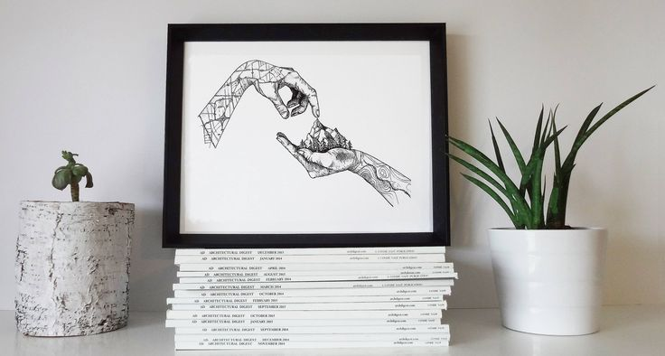 Excited to share the latest addition to my #etsy shop: Hands Illustration,Nature Art,Mountain Print,Nature Print,Minimalist Art,Black and White,Illustration,Wall Print,Landscape,Gift,Travel http://etsy.me/2AmVrtR #housewares #homedecor #black #white #bedroom #blackandwhite #illus