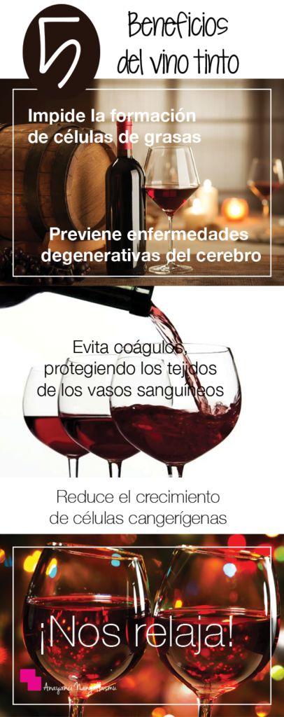 El vino tinto y sus múltiples beneficios.