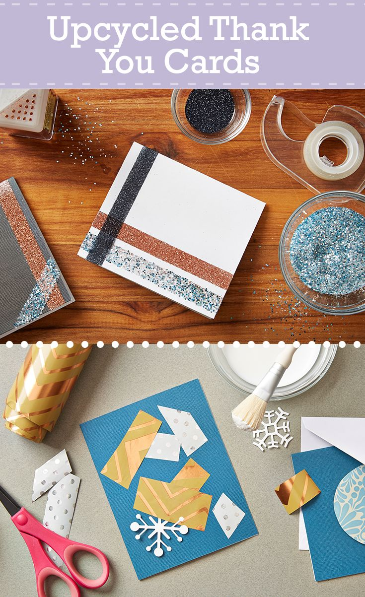 Turn Leftover Holiday Materials Into Upcycled Homemade