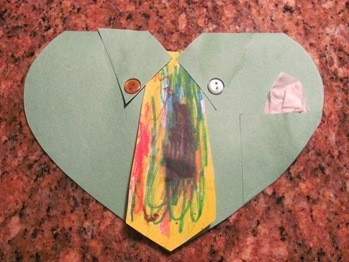 Father's Day Card for Preschoolers