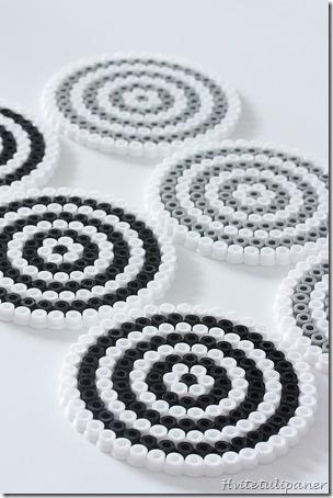Coasters / hama bead perler pattern - Bügelperlen