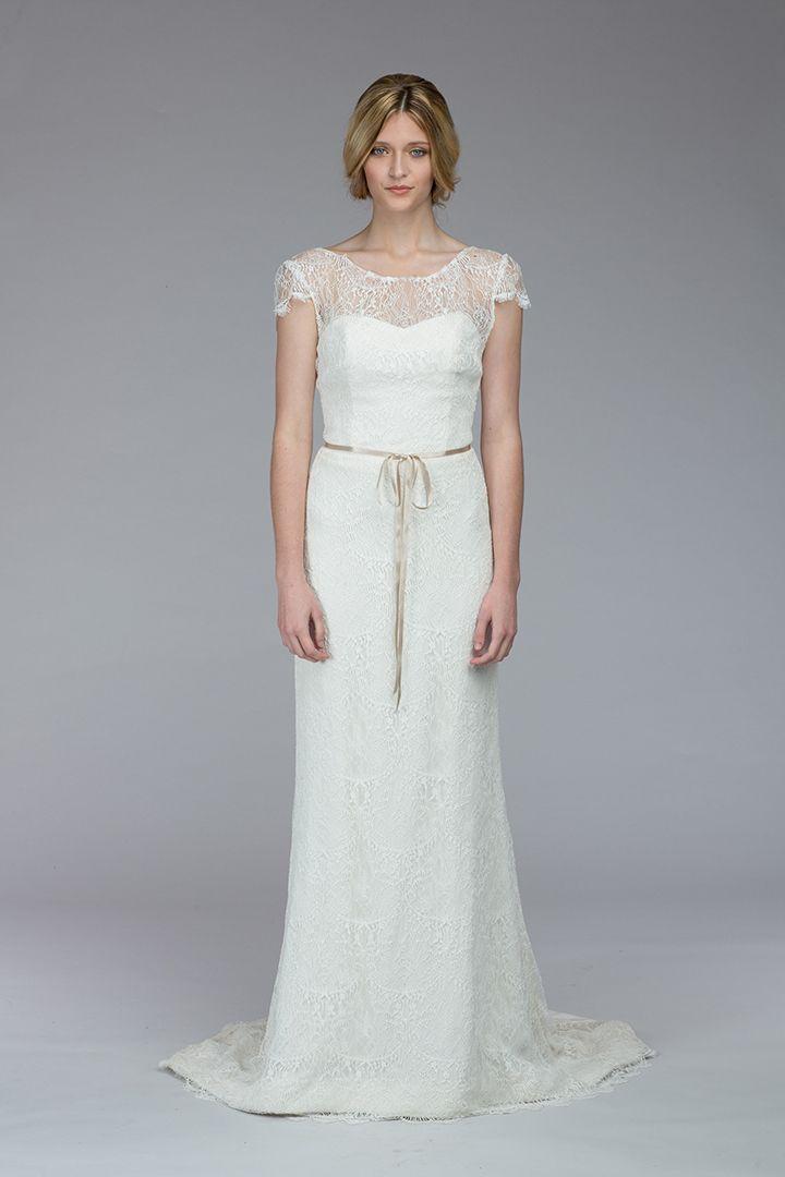 Simple Kate McDonald Stanwyck original sample sale Bridal