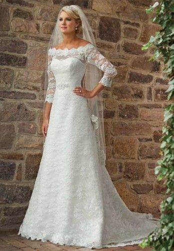 I'm still in love with this...but probably too hot for a May wedding.