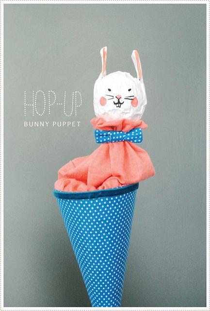 A faire : marionnettes avec des cônes de filature.